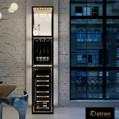 Do you like furnishing your home with style? Datron proposes these free-standing Custom Shelving Units, that allows to use space vertically.