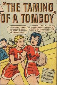 The Taming Of A Tomboy