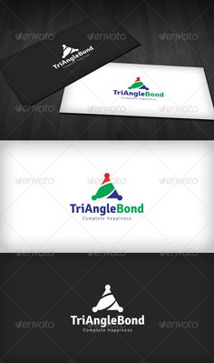 Triangle Bond	 Logo Design Template Vector #logotype Download it here: http://graphicriver.net/item/triangle-bond-logo/2123567?s_rank=743?ref=nexion