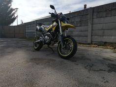 Photo Honda Fmx 650 yellow