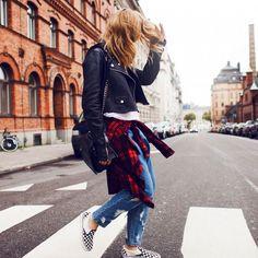 15 WAYS TO WEAR CHECKERED VANS SLIP-ON SNEAKERS   Styler.