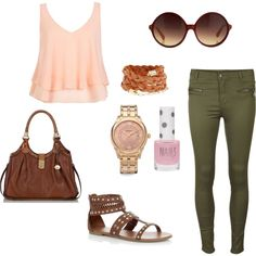 """""""Back to school outfit ideas"""" by lorena-galindo on Polyvore"""