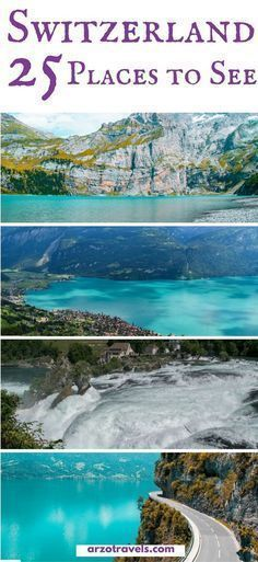 25 things to see in amazing Switzerland. Find out where to go in Switzerland plus all the important travel information you need for Switzerland #internationaltraveltips