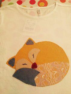 Camiseta niña #patchwork