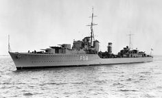 HMS Mashona (F59). In September 1939 she was serving with the sixth Destroyer Flotilla at Scapa Flow. She took part in operations resulting in the sinking of the Bismarck on 27 May 1941. She came under heavy air attack from the Luftwaffe while returning to port the following day, and was bombed and sunk off the coast of Galway with the loss of 48 men. The destroyer Tartar took the survivors to Greenock.