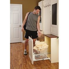Rev-A-Shelf - HRV-1520 S - Pullout Wire Hamper
