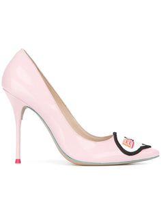 SOPHIA WEBSTER 'Bosslady'高跟鞋. #sophiawebster #shoes #pumps
