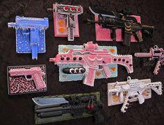 Pasteles y armas poco convencionales
