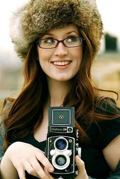 For wearing glasses, furry hats, and being quirky lyrically in a courageous way I can relate to. Ingrid Michaelson