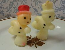 Vintage Tavern Novelty Skating Snowman Candles Old Time Christmas, What Is Christmas, Retro Christmas, Christmas Ideas, Christmas Decorations, Xmas, Snowman Pics, Snowmen Pictures, Build A Snowman