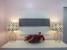 DIY Fabric Lampshade | Design Blog by Nicole Gibbons