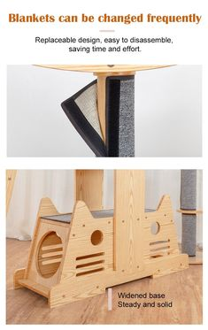 【50% OFF】2020 New In Cat TreeLuxury Cat Climbing Solid Wood Tree Strong bearing capacity, stable and not shaking Prevent furniture from being damaged. A Gift For Your Baby Cat Cat's claw blankets are all replaceable designs Meet the needs of cats with different functions. AFTER-SALESERVICE We offer 100% satisfaction guarantee, 40-day back moneyguarantee and 2-year warranty. We have 24/7/365 Facebook Messenger and Email support. Shipping takes 15-30 Days depending on location. SALES ENDING…
