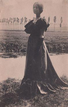 """Gertrude Käsebier, """"A Study"""", ca. 1898, platinum print, 7 1/4"""" x 4 3/4"""""""