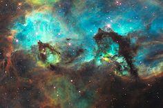 Seepferdchen in der Großen Magellanschen Wolke Credit: NASA, ESA und Mario Livio (STScI)