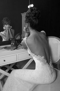 Backless Wedding Dress Inbal Dror 2011 Collection Dress Number 13
