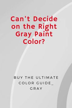 Can't decide on the right color Gray for your room? Mark Cutler has created the Ultimate Color Guide to help you. For $19.99 you get this 25 page downloadable guide with - Our 5 favorite and tested Benjamin Moore colors -Photographs to inspire you -Suggestions about the best ways to use them in your home -Pros and Cons of each color to help you avoid costly mistakes - Complementary colors to complete your scheme -Helpful painting tip guide to make your project a success Interior Design Videos, Famous Interior Designers, Benjamin Moore Colors, Painting Tips, Design Projects, Luxury Homes, Gray Color, Make It Yourself, Create