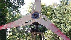 This video shows you how to build a DIY Wind Generator using Old Ceiling Fan parts ,Microwave Oven Parts ,Old TV Antenna