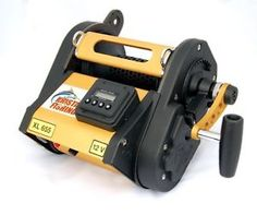 Deep Drop Electric Fishing Reel - Kristal XL 655DM 12V