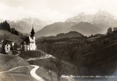 Maria Gern Berchtesgadener-Land  Watzmann