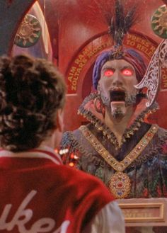 The unplugged Zoltar machine, creepy! One of my fave movies.Tom Hanks in BIG (1988).