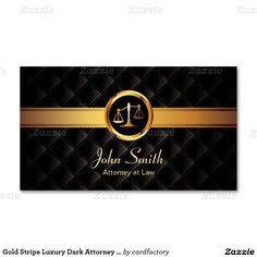Cartão de visita escuro luxuoso do advogado da                                                                                                                                                     Mais