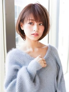 アフロートジャパン(AFLOAT JAPAN) AFLOAT『菅谷』ナチュラル耳掛けショートヘア