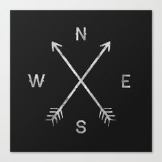 Compass+Canvas+Print+by+Zach+Terrell+-+$85.00