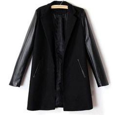 Fancy black coat