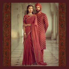 "29.9k Likes, 61 Comments - Sabyasachi Mukherjee (@sabyasachiofficial) on Instagram: ""The Heritage Collection. Pink maheshwari sari with marori border and an aari blouse. Best worn at…"""