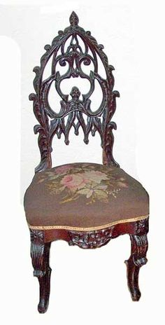 goth furniture | Common pieces include: chairs, beds, tables, and storage.