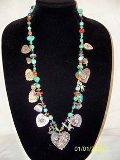 Joan Slifka Necklace... which I happen to own one like this, and the matching bracelet.