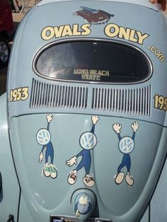 VW Beetle Ovals Only