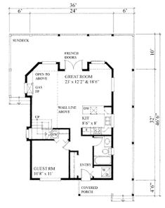 13 Best Apartment over Garage ideas images | Cabin, Cottage, Cabin Clic Nantucket House Plans on
