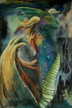 The Lightning Dragon by ~XagroS on deviantART