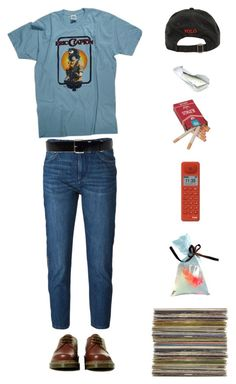 """""""Pitseleh"""" by origami-kitten ❤ liked on Polyvore featuring Punkt., Dr. Martens, Ralph Lauren, Étoile Isabel Marant and Surface To Air"""