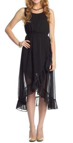 Maxi Dress with Ruffle