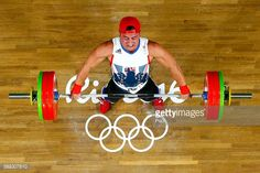 Sonny Webster of Great Britain during the Weightlifting - Men's 94kg... News Photo | Getty Images