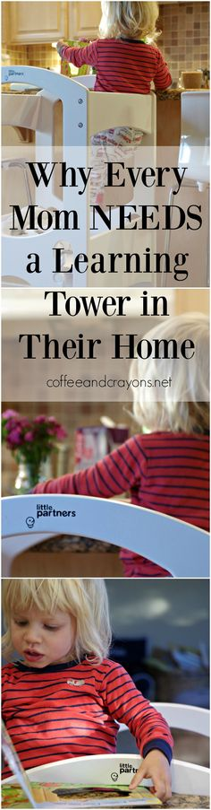 One of the most important items I have in my home to help keep me sane and my toddler safe! The Learning Tower by Little Partners is a must-have for all parent's with an active toddler!