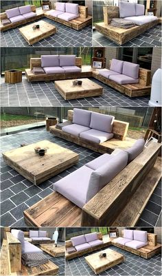 Spectacular Diy Projects Pallet Sofa Design Ideas For You 01 Diy Garden Furniture, Diy Outdoor Furniture, Diy Pallet Furniture, Diy Furniture Projects, Diy Pallet Projects, Outdoor Decor, Outdoor Sofa, Furniture Websites, Outdoor Seating