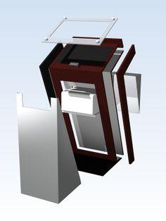 cool kiosk design