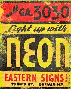 Neon by Keith Tatum