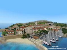 Spring4Sims » Plav Raj, Croatian Coast World by Nilxis Sims