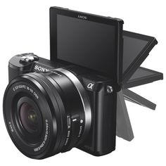 Sony A5000 20.1MP Mirrorless Camera with 16-50mm Lens - Black : Mirrorless Camera Kits - Best Buy Canada