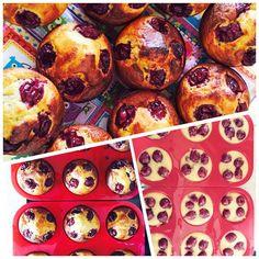 Meggyes muffin#muffin #paleo #szénhidrátcsökkentett #szafi #éhezésmenteskarcsúság #éhezésmenteskarcsúságszafival#paleodessert#paleofriendly#healthy#healthyfood#dessert#instafood #lowcarb#glutenfree#delicious