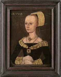 Elizabeth Wydville, mother of Elizabeth of York (wife of King Henry VII), grandmother of Arthur, Margaret, Henry, and Mary Tudor