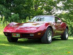 1974 Corvette Stingray Coupe - Medium Red Metallic / Neutral Beige photo #21