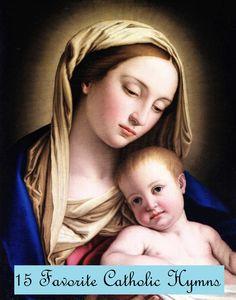 15 Favorite Catholic Hymns | Inspired Homeschooling