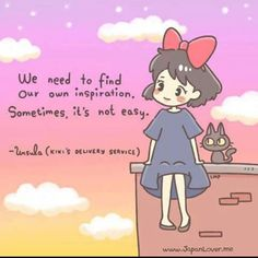 15 Studio Ghibli And Hayao Miyazaki Quotes To Get You Through Anything Studio Ghibli Quotes, Studio Ghibli Art, Studio Ghibli Movies, Hayao Miyazaki, Kiki Delivery, Kiki's Delivery Service, M Anime, Fanarts Anime, Anime Girls