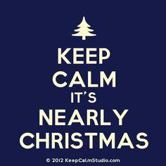 Keep calm ...