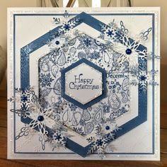 Created with the Ornate Paisley Square Collage Stamp. Available from www.honeypotcrafts.co.uk